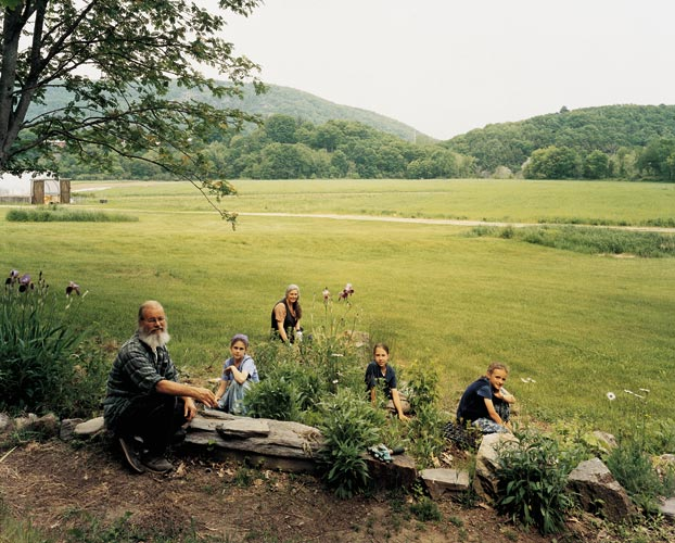 Twelve Tribes Community, Basin Farm, Bellows Falls, Vermont, June 2005.